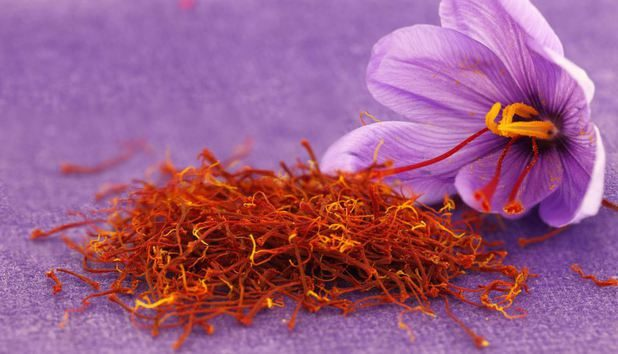 saffron and flower